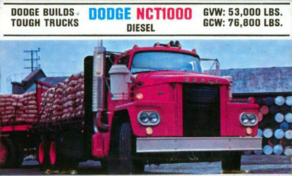 Big Dodge Trucks'61'71 Truck Website. Lcf Nct1000 Truck S. Dodge. Dodge Lcf Series Trucks Wiring At Scoala.co