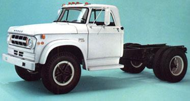 Image From Dodge Truck S Literature D Series Sweptline Era Bos Were Prevalent In The Medium Duty Category Clear Through To Late 1973 When