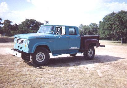 Big Dodge Trucks:'61-'71 Dodge Truck Website