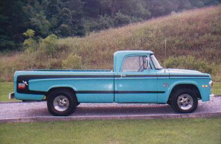 68-'71 Dodge Trucks