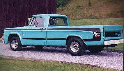 Club & Registry Info:'61-'71 Dodge Truck Website