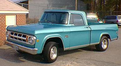 Custom Ideas for '61-'71 Dodge Trucks