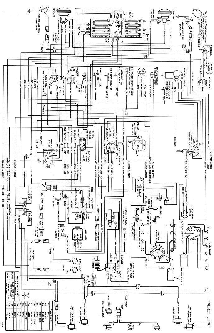 64_awire electricals '61 '71 dodge truck website 1964 chevy truck wiring diagram at alyssarenee.co